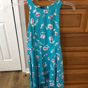 Brand new floral turquoise dress